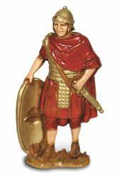 Picture of Roman Soldier with Shield cm 8 (3,1 inch) Landi Moranduzzo Nativity Scene in PVC, Neapolitan style
