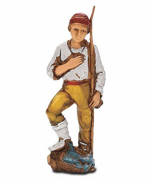 Picture of Fisherman cm 8 (3,1 inch) Landi Moranduzzo Nativity Scene in PVC, Neapolitan style