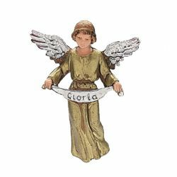 Picture of Glory Angel cm 8 (3,1 inch) Landi Moranduzzo Nativity Scene in PVC, Neapolitan style