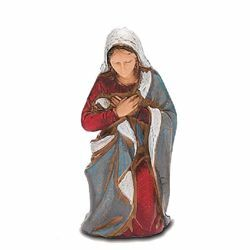 Picture of Mary / Madonna cm 8 (3,1 inch) Landi Moranduzzo Nativity Scene in PVC, Neapolitan style