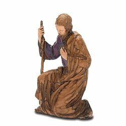 Picture of Saint Joseph cm 8 (3,1 inch) Landi Moranduzzo Nativity Scene in PVC, Neapolitan style