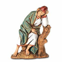 Picture of Sleeping Man cm 6,5 (2,6 inch) Landi Moranduzzo Nativity Scene in PVC, Arabic style