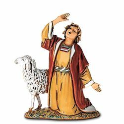 Picture of Amazed Shepherd cm 6,5 (2,6 inch) Landi Moranduzzo Nativity Scene in PVC, Arabic style