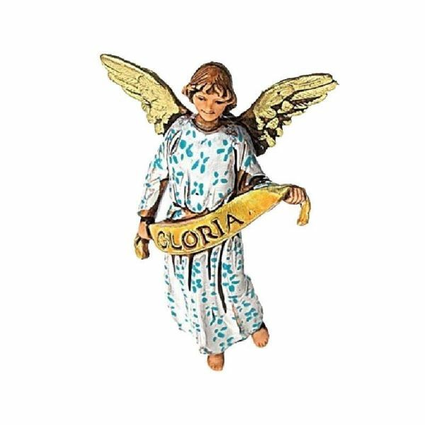 Picture of Glory Angel cm 6,5 (2,6 inch) Landi Moranduzzo Nativity Scene in PVC, Arabic style