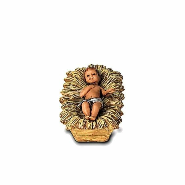 Immagine di Gesù Bambino cm 6,5 (2,6 inch) Presepe Landi Moranduzzo in PVC stile Arabo