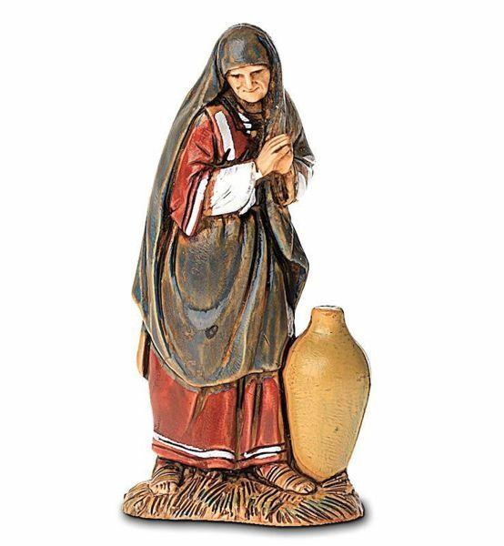 Immagine di Donna con Anfora cm 6,5 (2,6 inch) Presepe Landi Moranduzzo in PVC stile Arabo