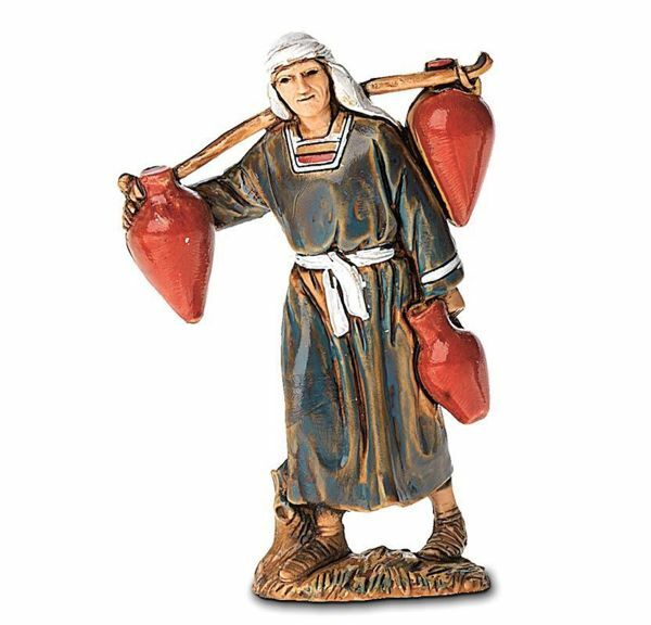 Picture of Man with Jugs cm 6,5 (2,6 inch) Landi Moranduzzo Nativity Scene in PVC, Arabic style