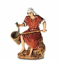 Picture of Fisherman cm 6,5 (2,6 inch) Landi Moranduzzo Nativity Scene in PVC, Arabic style