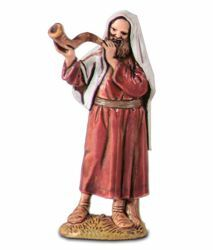 Picture of Music Player cm 6,5 (2,6 inch) Landi Moranduzzo Nativity Scene in PVC, Arabic style