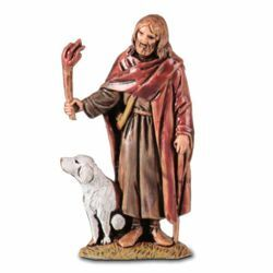 Picture of Wanderer with torchlight cm 6,5 (2,6 inch) Landi Moranduzzo Nativity Scene in PVC, Arabic style