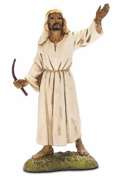 Imagen de Camellero árabe cm 10 (3,9 inch) Belén Landi Moranduzzo en PVC, estilo Napolitano