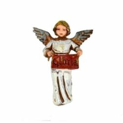 Picture of Glory Angel cm 6 (2,4 inch) Landi Moranduzzo Nativity Scene in PVC, Neapolitan style
