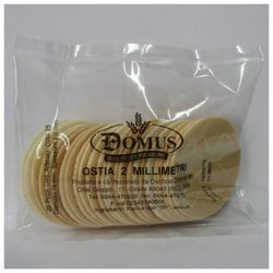 Picture of Hosts diam. 74 mm (2,9 inch), h. 2 mm, 25 pcs Altar Bread