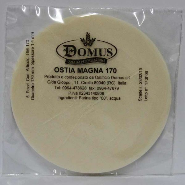 Picture of Magna Host diam. 170 mm (6,7 inch), h. 1,4 mm, 5 pcs Communion Bread