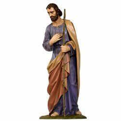 Immagine di San Giuseppe cm 160 (63 inch) Presepe Landi Moranduzzo in vetroresina stile Arabo