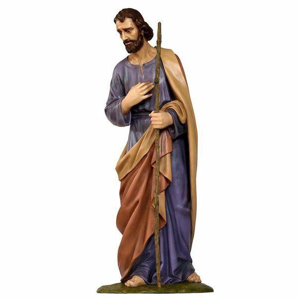 Picture of Saint Joseph cm 160 (63 inch) Landi Moranduzzo Nativity Scene in fiberglass, Arabic style