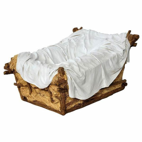 Picture of Cradle cm 160 (63 inch) Landi Moranduzzo Nativity Scene in fiberglass, Arabic style