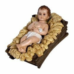 Immagine di Gesù Bambino cm 65 (25,6 inch) Presepe Landi Moranduzzo in vetroresina stile Arabo