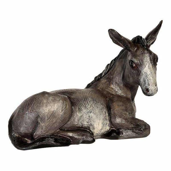 Picture of Donkey cm 65 (25,6 inch) Landi Moranduzzo Nativity Scene in fiberglass, Arabic style