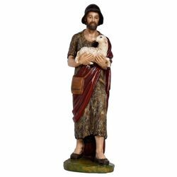 Picture of Good Shepherd cm 65 (25,6 inch) Landi Moranduzzo Nativity Scene in fiberglass, Arabic style