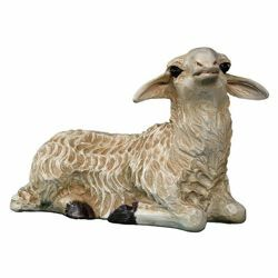 Picture of Sleeping Sheep cm 65 (25,6 inch) Landi Moranduzzo Nativity Scene in fiberglass, Arabic style