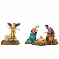 Picture of Complete Nativity 14 Subjects cm 9 (3,4 inch) Landi Moranduzzo Nativity Scene in PVC, Arabic style