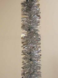 Picture of Christmas Garland L. 10 m (395 inch), diam. cm 8 (3,1 inch) Silver plastic PVC