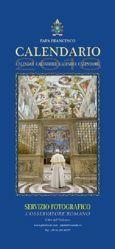 Calendrier officiel 2018 Pape François Format mural cm 50 x 23
