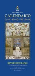 Pope Francis 2018 official calendar - wall format, cm 50 x 23