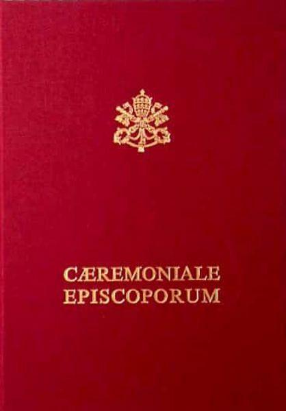 Picture of Caeremoniale Episcoporum editio typica, reimpressio emendata 2008
