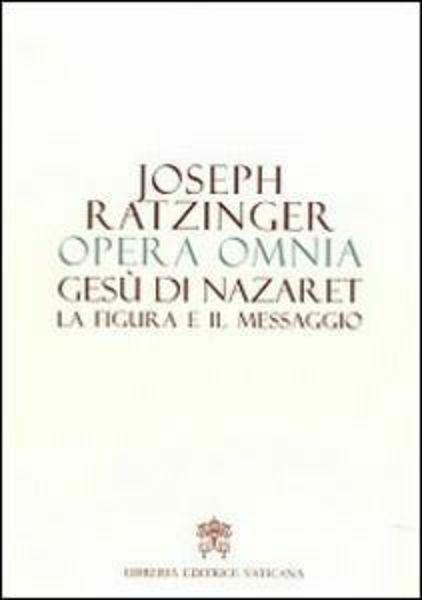 Imagen de Gesù di Nazaret La figura e il messaggio