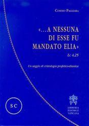 Picture of A nessuna di esse fu mandato Elia (LC 4,25) Un saggio di cristologia profetico-elianica