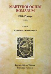 Imagen de Martyrologium Romanum Editio Princeps (1584) Monumenta Liturgica Concilii Tridentini