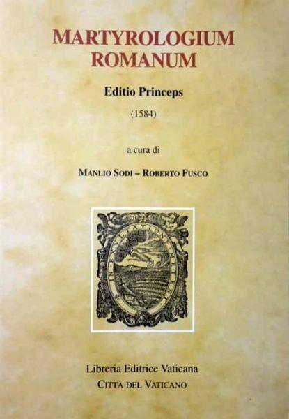 Immagine di Martyrologium Romanum Editio Princeps (1584) Monumenta Liturgica Concilii Tridentini