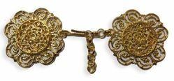 Picture of Metallic Cope Clasp gold Chain for Pluviale Surplice Cloak Vestments