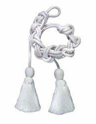 Immagine di Cingolo Sacerdotale in puro Cotone Bianco