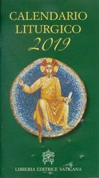 Immagine di Calendario Liturgico 2019 della Chiesa Cattolica Rito Romano