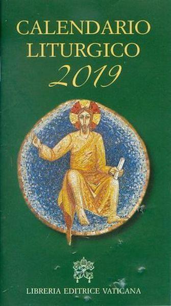Picture of Calendario Liturgico 2019 della Chiesa Cattolica Rito Romano