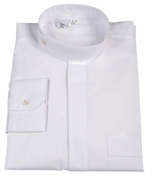 Immagine di Camicia per Abito Talare Collo Ortodosso misto Cotone Felisi 1911 Bianco Nero