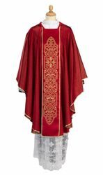 Picture of Liturgical Chasuble Wool blend Red Olive Green Violet Ivory Felisi 1911