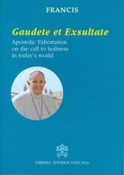 Picture of Gaudete et Exsultate Apostolic Exhoration on the call to holiness in today's world