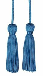 Picture of Cincture Tassels Cotton blend Felisi 1911 Red Celestial Violet Green Flag Ivory White Pink