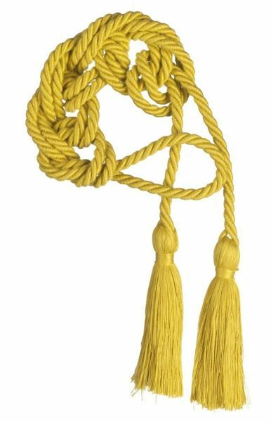 Picture of Cincture with Tassel Cotton blend Felisi 1911 Yellow Red Olive Green Violet White