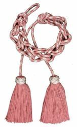 Picture of Cincture with silver/colour Solomon knot 1 Tripolin Knot Tassel Felisi 1911 Red Violet Green Flag White Pink