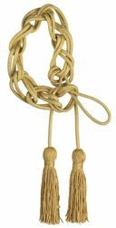 Picture of Small Cincture Gold 1 Tripolin Knot Tassel Cotton blend Felisi 1911 Gold