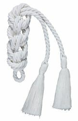 Picture of First Communion Cincture 1 Tassel Cotton blend Felisi 1911 White