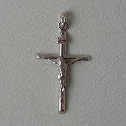 Imagen de Colgante Cruz con crucifijo en plata 925 Unisex Mujer Hombre
