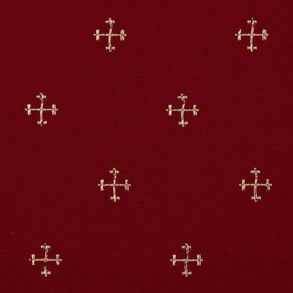 2d275c5c92 Lampassetto Croci H. cm 160 (63 inch) Acetato Poliestere Rosso Verde Giallo  Oro Viola Bianco Tessuto per Paramenti liturgici
