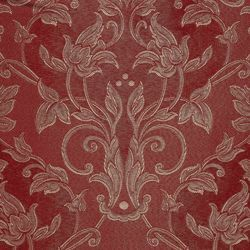 Picture of Canete Filigree Damask H. cm 160 (63 inch) Acetate Viscose Fabric Red Olive Green Violet Ivory for liturgical Vestments