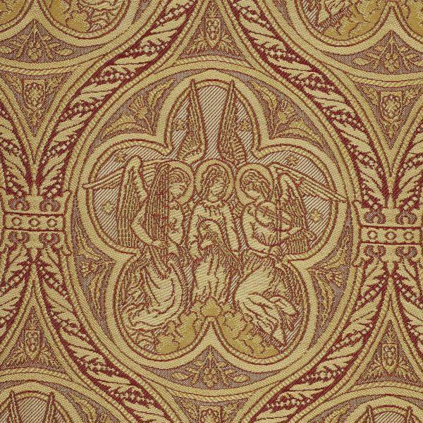 Imagen de Paño Músicos ángeles H. cm 160 (63 inch) Tejido Poliéster Viscosa para Vestiduras litúrgicas